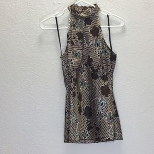 B Wear Casual Wear Halter Top Floral Print Medium
